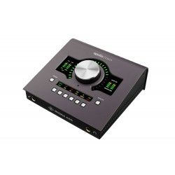 Universal Audio Apollo Twin MKII w/DUO DSP Processing (Mac) Thunderbolt Audio Interface Front Angle
