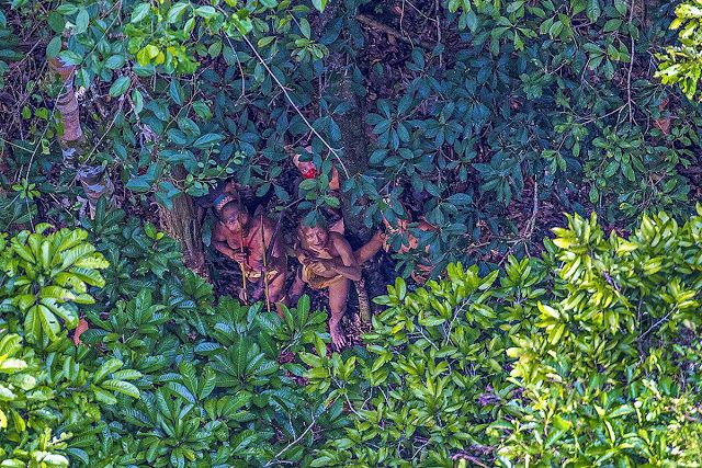 AWAKENING FOR ALL: Incredible Images show Uncontacted Amazonian Tribe...