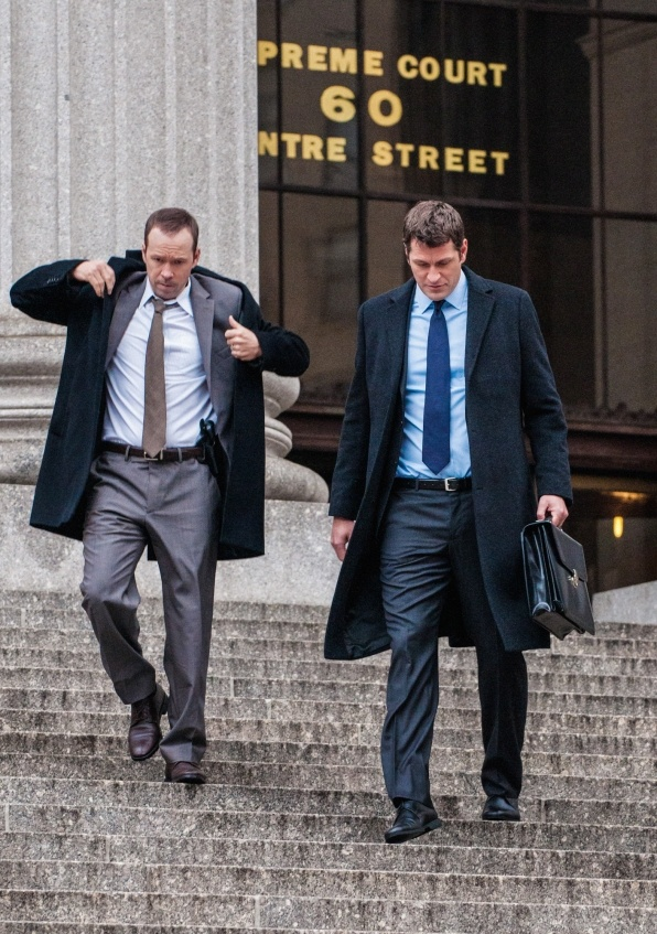 Blue Bloods Photos: Danny and his ex-brother-in-law and attorney Jack who is representing him in this episode.