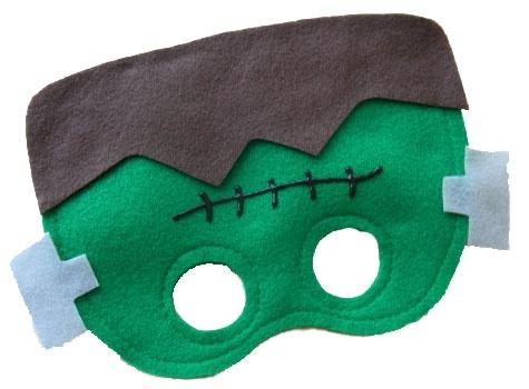 Frankenstein Mask from Mahalo, halloween, halloween Costumes, costumes, Frankenstein Mask, Frankenstein, Mask