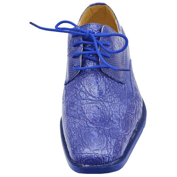 roberto chillini royal blue mens dress shoes shoes