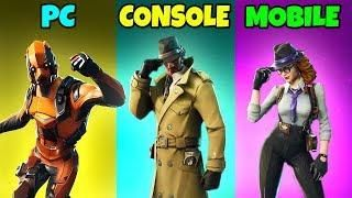 pc vs console vs mobile in fortnite battle royale ep 139 - pc vs console vs mobile fortnite