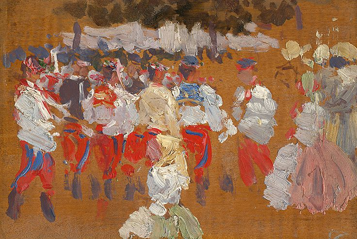 Sketch by Joža Úprka, 1901/1925. Slovak national gallery, CC BY