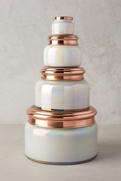 VOLCANO scent only please! brand: Capri Blue Glass Candles (Anthropologie has iridescent and mercury glass jars for holidays. Regularly bright cobalt blue) but these can be found at Francesca's and a few other retailers