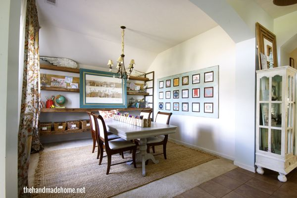 Easy Dining Room Conversion That Can Quickly Be Changed