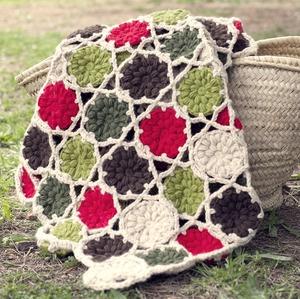 Marcel Afghan Knitting Pattern : patron de Ganchitos para hacer esta maravilllosa manta. 3 ...