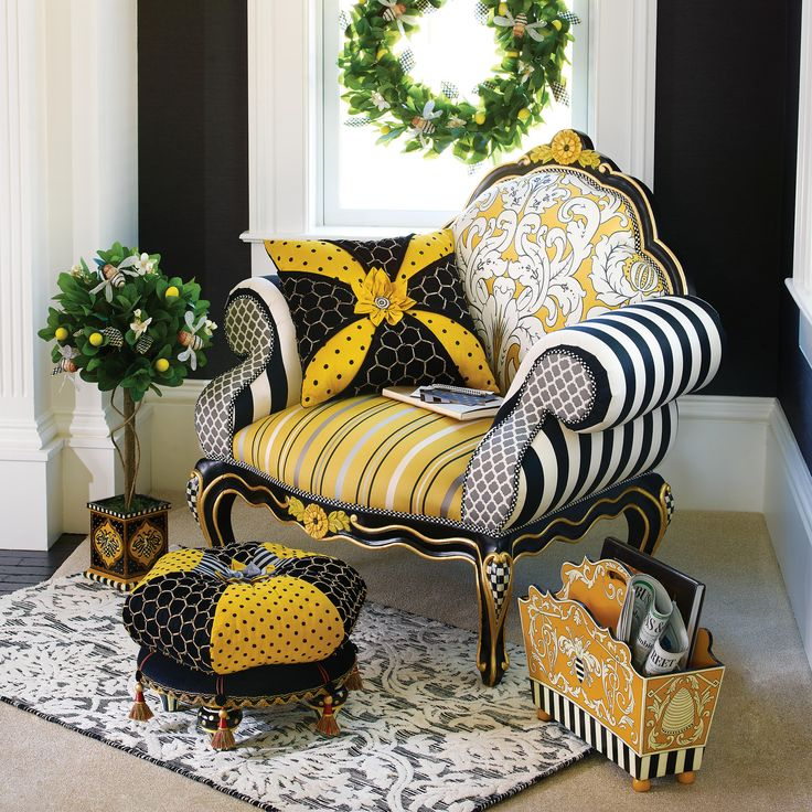 A little nook made for the Queen Bee.