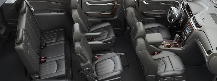 2015 Traverse interior design