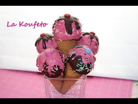 Παγωτό Cake Pops Παιδικο παρτυ & Συμμετριασμός σοκολάτας - YouTube
