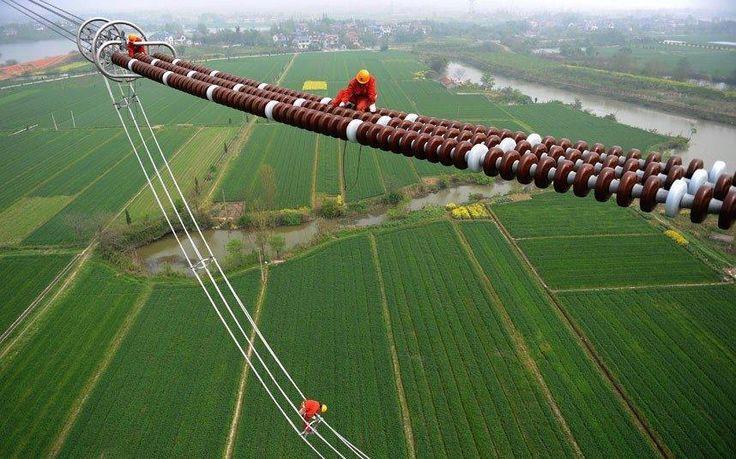 Cadena de aisladores de Línea de Transmisión de 1000 kV
