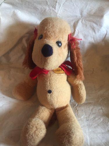 PLUSH-HENRIETTA-18-034-DOG-HENRY-GIRLFRIEND-1974-ANIMAL-FAIR-l-rtb2