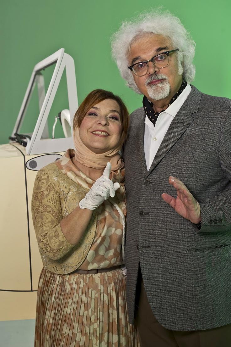 Syusy Blady e Patrizio Roversi