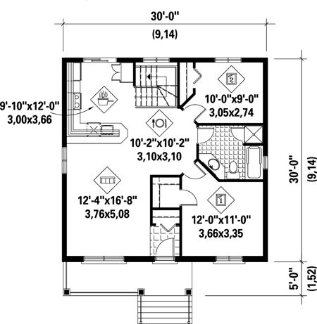 house plans of 900 square feet. First Floor Plan of House 52522 42 best About 900 square feet images on Pinterest  Architecture