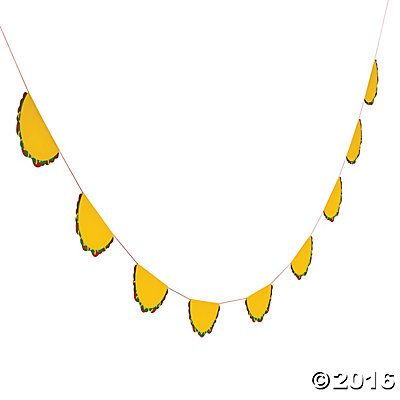 Taco Garland $5   Could also make my own w/ Silhouette #deco