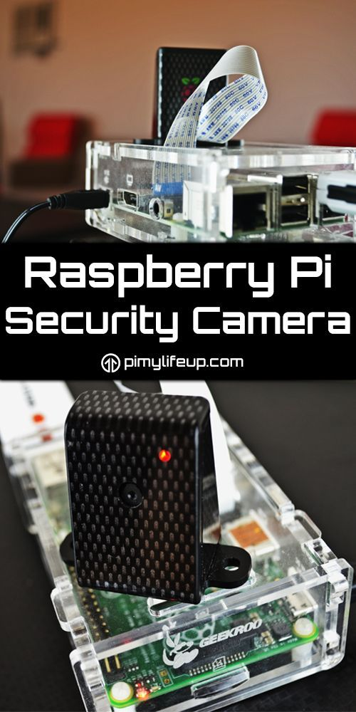 Setup a simple Raspberry Pi security camera system that can monitor just  one or multiple cameras