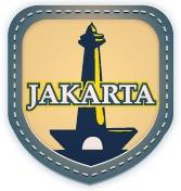 Jakarta  DKI-Jakarta, Capital of Republic Indonesia and DKI-Province.