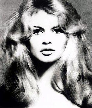 Richard Avedon portrait of Bridgette Bardot
