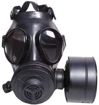 evolution 5000 gas mask - survive nuclear winter