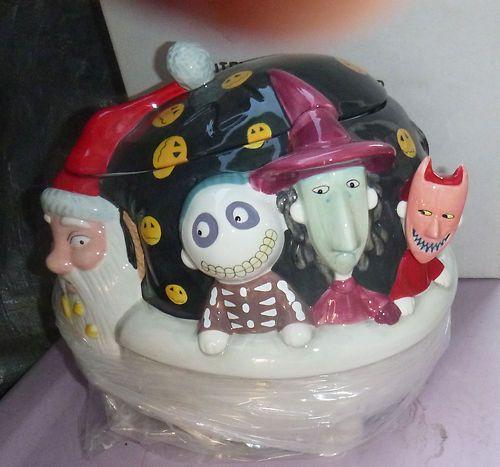 Awesome Nightmare Before Christmas Disney Cookie Jar