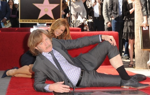 Felictiy Huffman & William H. Macy at their Hollywood Walk Of Fame Ceremony, March 7thHollywood Walks, Williams, People, Macys