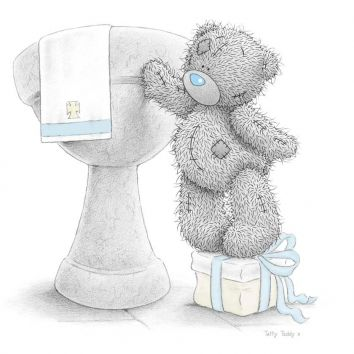 Me to you tatty teddy bear cards - baby shower, new born, birth, christening