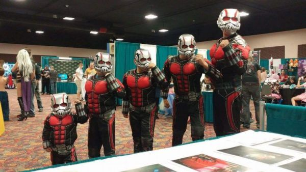 Ant-Man Cosplay Should Always Be Done As A Team
