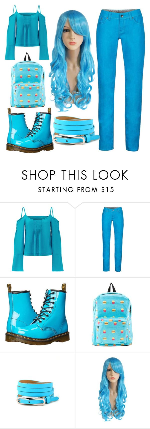 """19"" by cristina-vanau on Polyvore featuring Nanette Lepore, Marmot and Dr. Martens"