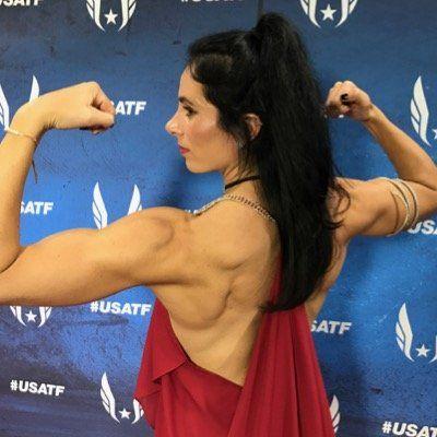 jenn suhr #1...In the World 16-6 (1 inch less the Yelena Isinbayeva...no doping)