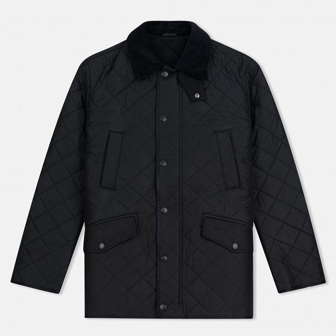 Мужская стеганая куртка Barbour Bardon Black