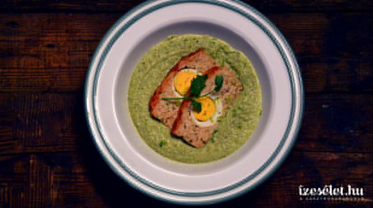 Mascarponés zöldbab főzelék