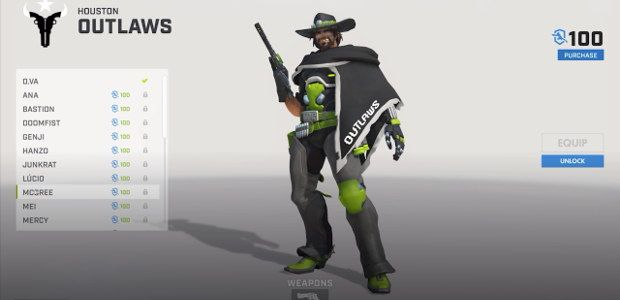 Overwatch launches $5 Overwatch League team kits