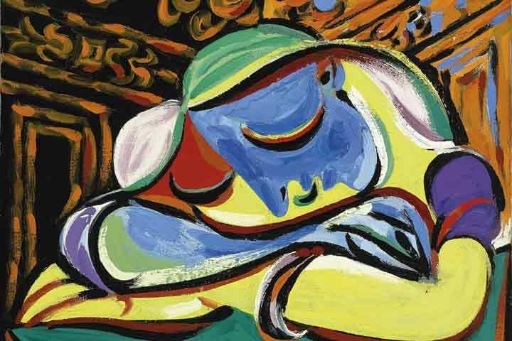 Chica Durmiendo #Picasso #Cubismo #Francia