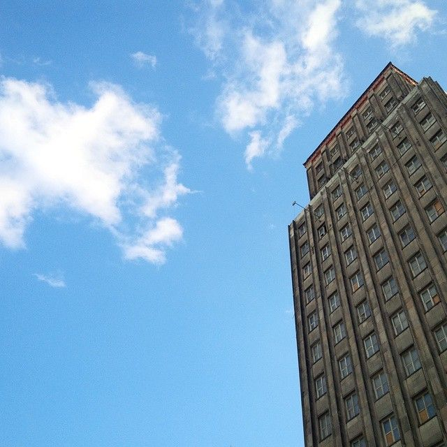#prudential #warsaw #old #skyscraper #architecture #building | Warszawa, Poland
