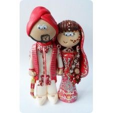 Custom Handmade Indian And Asian Wedding Cake Toppers Made To Look Like You In Any