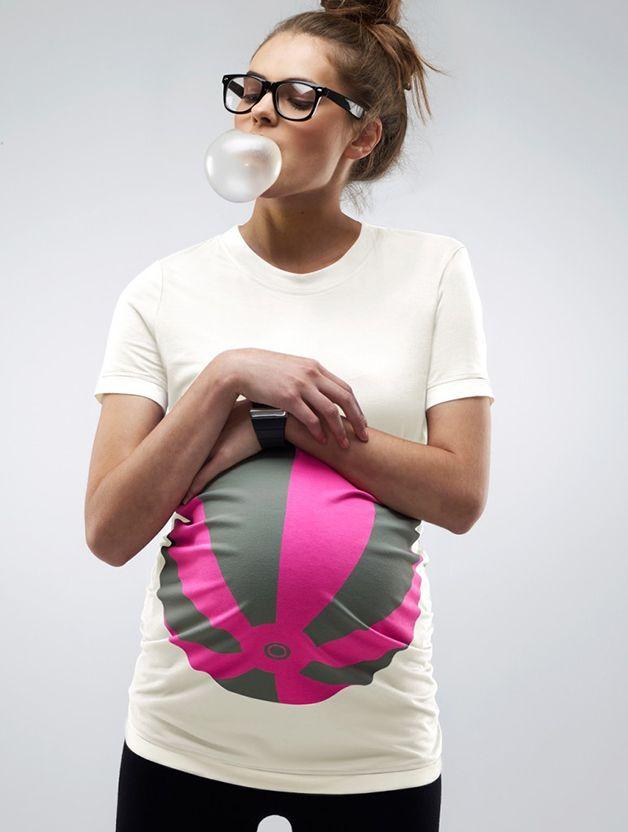 Camisetas 'ilustram' barrigas de grávidas com estampas criativas | Estilo