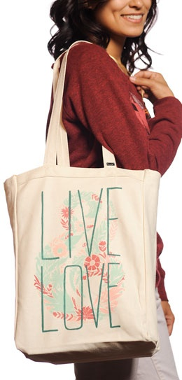 Sevenly Tote- For every tote purchased, @Sevenly will donate 7 dollars to CURE International charity programs!