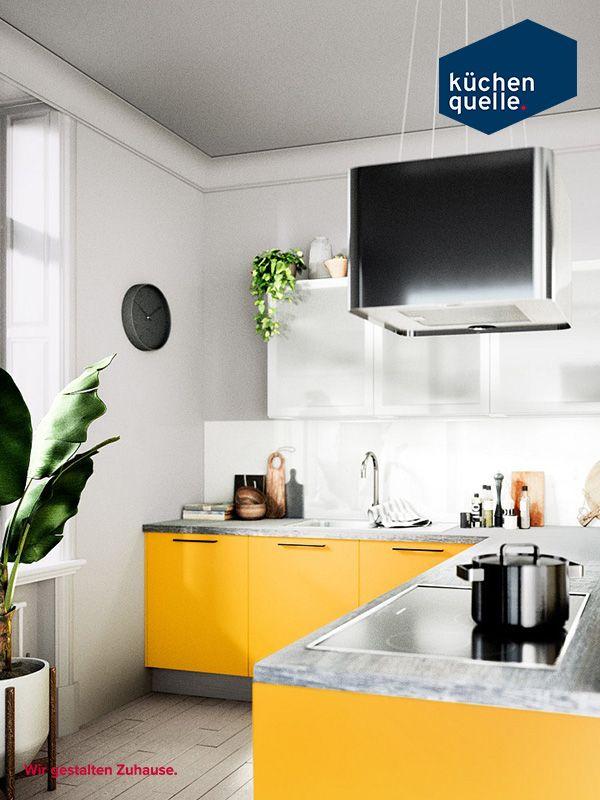 17 besten gelbe k chen bilder auf pinterest geplant farbenfroh und gelassenheit. Black Bedroom Furniture Sets. Home Design Ideas