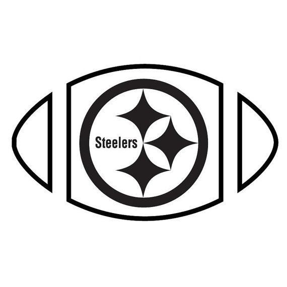 Pittsburgh Steelers Vinyl Graphic Decal by ArcherVinylCreations, $3.99