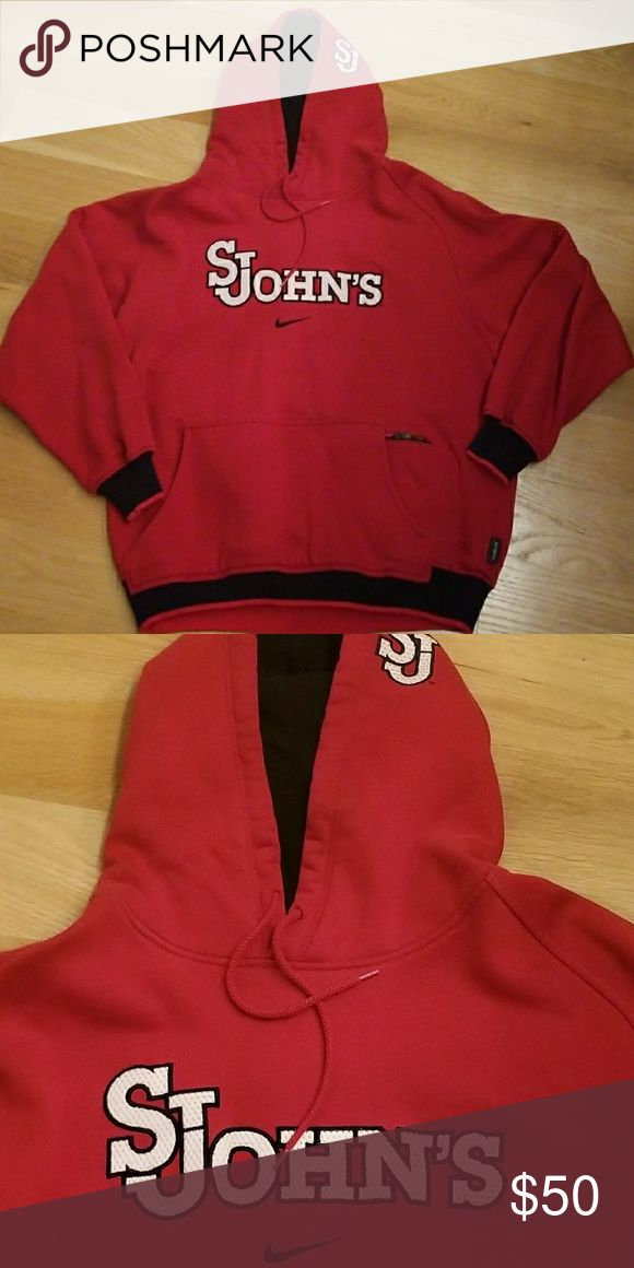 St. John's University Redstorm Nike Sweatshirt Team issued! Great condition. Size large. Nike Other