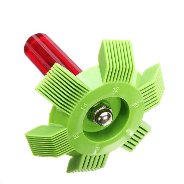 Refrigeration AC Condenser Plastic Fin Straightener For Cleaning