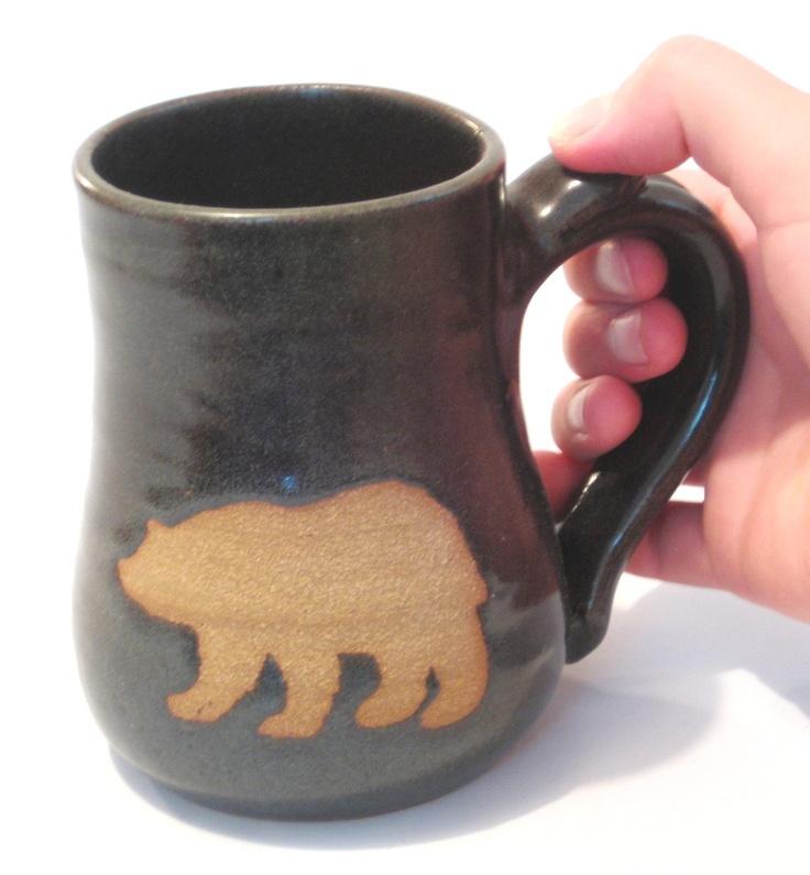 etsy Bear Mug