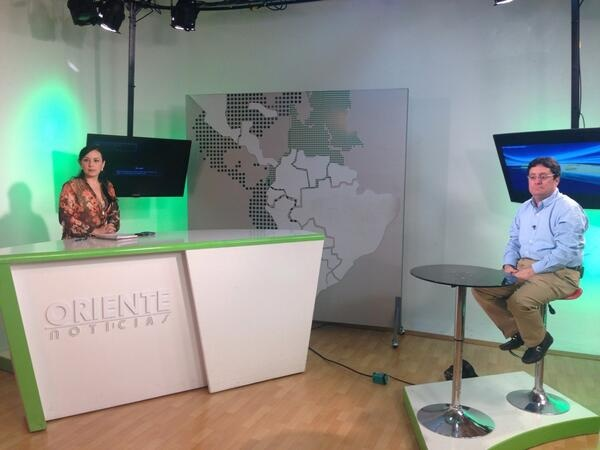 #EncuentroBinacional Entrevista en CanalTRO. @PachoSantosC
