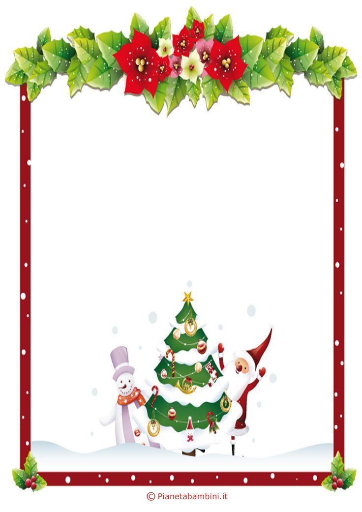 Lettera a Babbo Natale versione 6 da stampare gratis