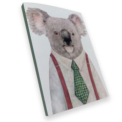 Australian Made Gifts & Souvenirs with the Hipster Koala Notebook -by La La Land. For the best Australian online shopping for a Note Pads