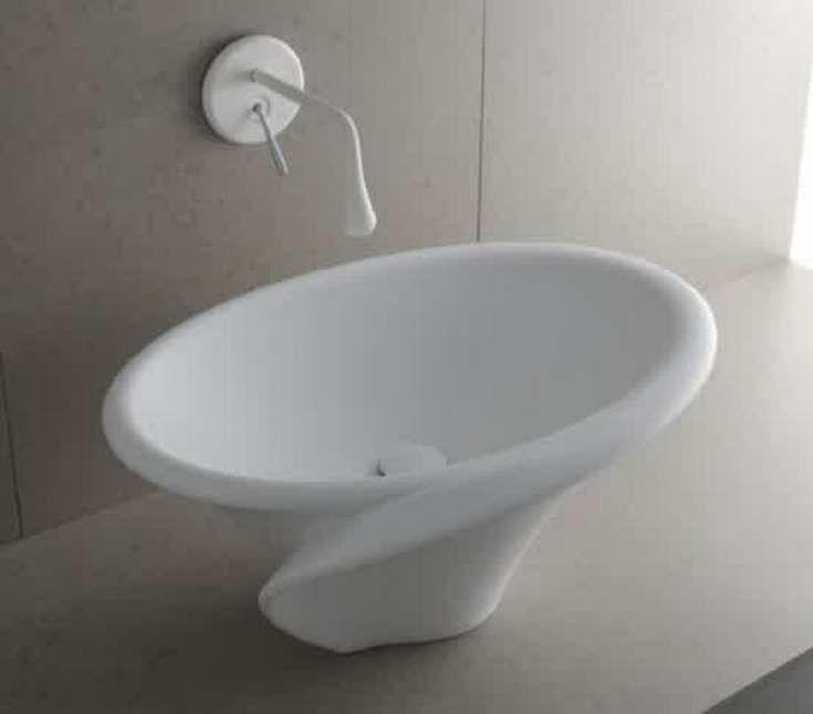 Elegant And Aesthetic Kalla Washbasin - http://homeypic.com/elegant-and-aesthetic-kalla-washbasin-2/