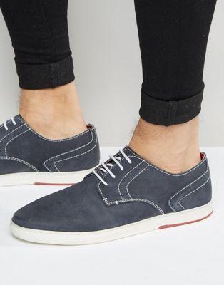 Темно-синие туфли дерби Dune