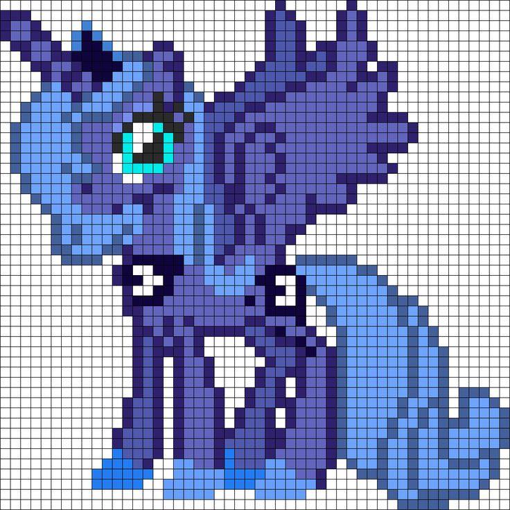 Princess Luna bead pattern