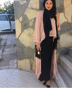 Hijab Fashion 2016/2017: Sélection de looks tendances spécial voilées Look…