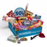 Hometown Favorites 1950's Nostalgic Candy Gift Box, Retro 50's Candy (Grocery)By Hometown Favorites