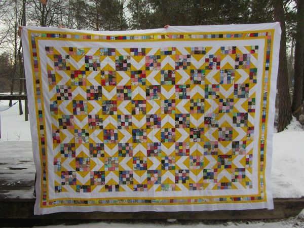 Sunny Lanes (pattern found at quilterscache.com)